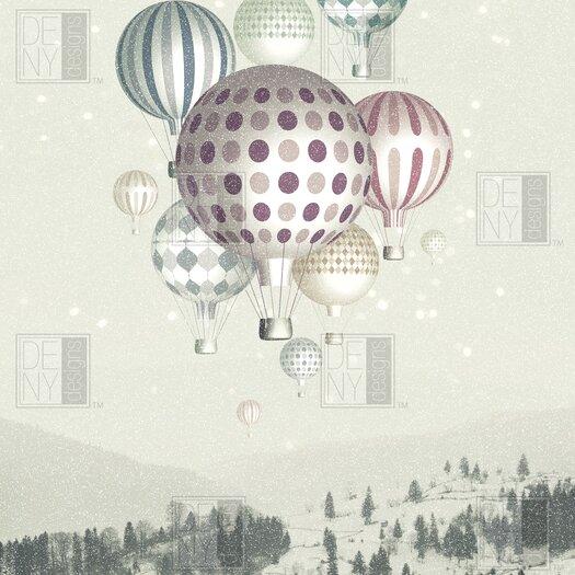 DENY Designs Belle13 Winter Dreamflight Polyester Shower Curtain