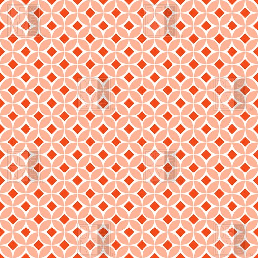 DENY Designs Caroline Okun Persimmon Polyester Shower Curtain