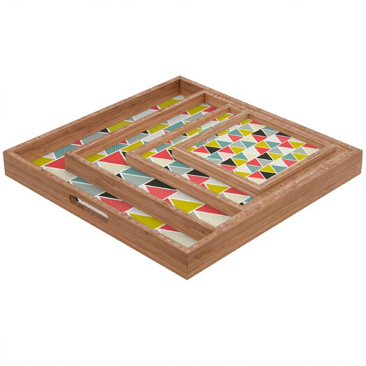 DENY Designs Heather Dutton Triangulum Square Tray