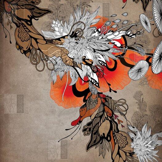 DENY Designs Iveta Abolina Polyester Sonnet Shower Curtain