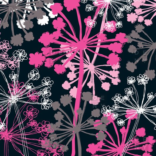 DENY Designs Rachael Taylor Polyester Cow Parsley Shower Curtain