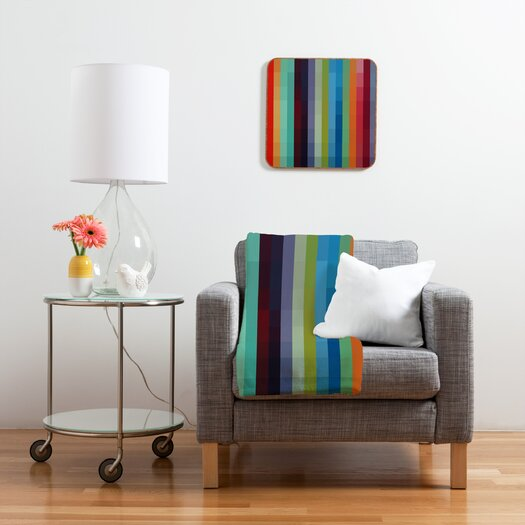 DENY Designs Madart Inc. City Colors Polyester Fleece Throw Blanket