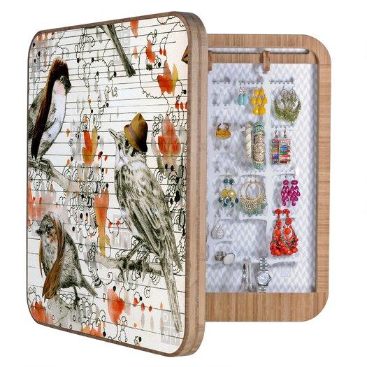 DENY Designs Randi Antonsen Love Birds Jewelry Box