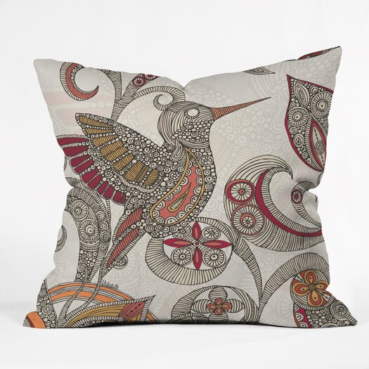 DENY Designs Valentina Ramos Flying Polyester Throw Pillow