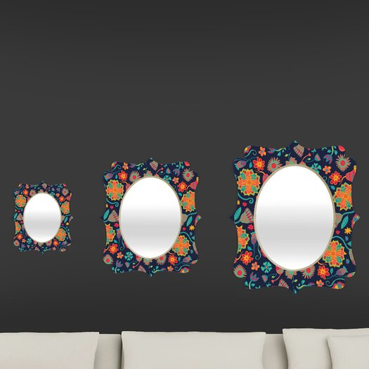 DENY Designs Arcturus Bloom 1 Quatrefoil Mirror