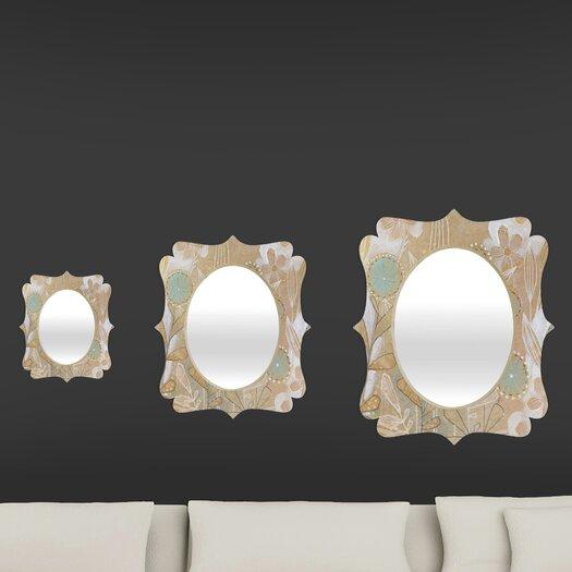 DENY Designs Cori Dantini Quatrefoil Mirror