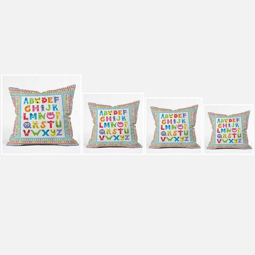 DENY Designs Andi Bird Woven Polyester Throw Pillow