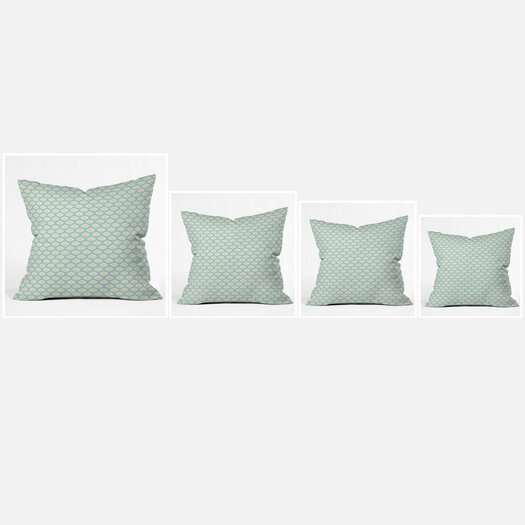 DENY Designs Sabine Reinhart Into The Sky Polyester Throw Pillow