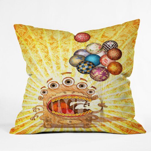 DENY Designs Jose Luis Guerrero Woven Polyester Throw Pillow