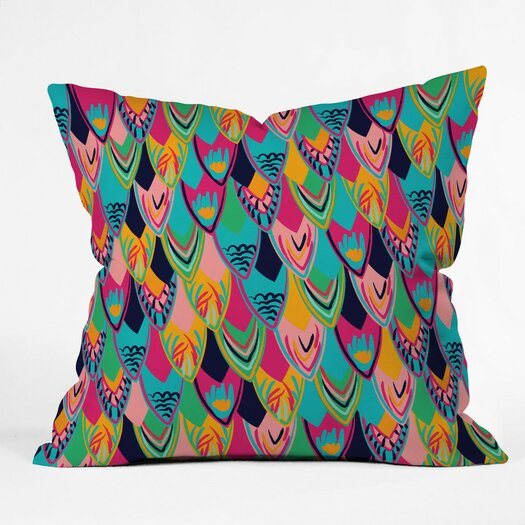 DENY Designs Vy La Love Birds 1 Throw Pillow