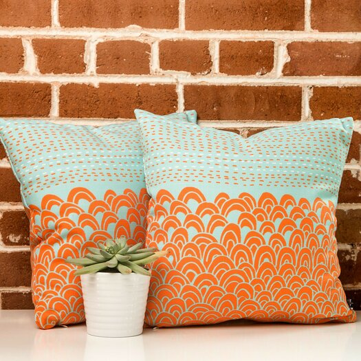 DENY Designs Budi Kwan The Infinite Tidal Throw Pillow