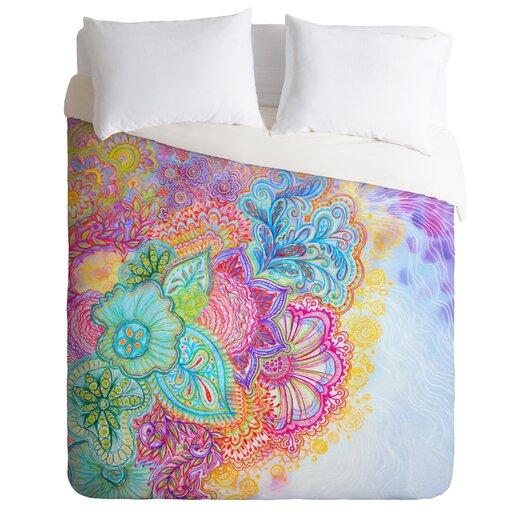 DENY Designs Stephanie Corfee Flourish Microfiber Duvet Cover