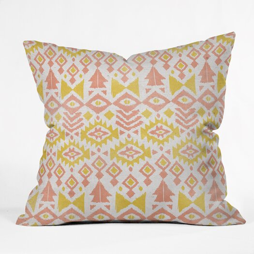 DENY Designs Loni Harris Tribal Party Outdoor Throw Pillow