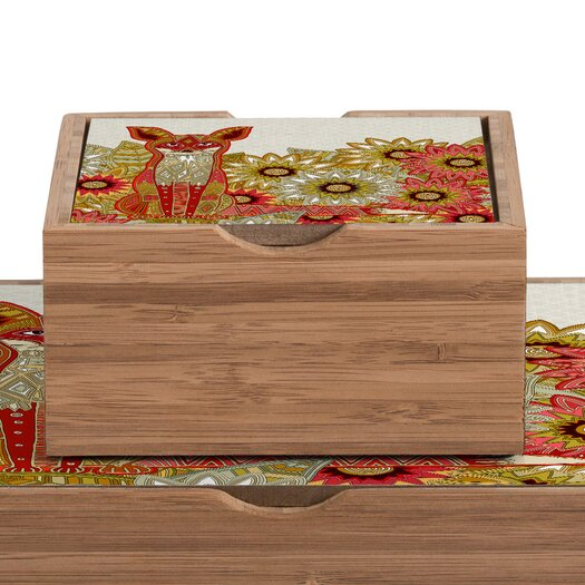 DENY Designs Sharon Turner Garden Fox Box