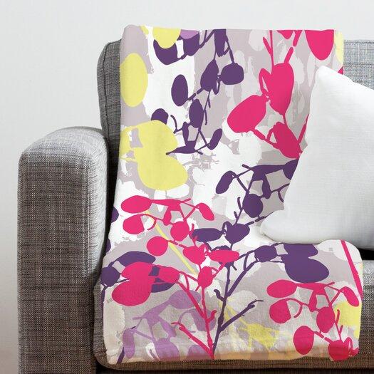 DENY Designs Rachael Taylor Textured Honesty Polyester Fleece  Throw Blanket