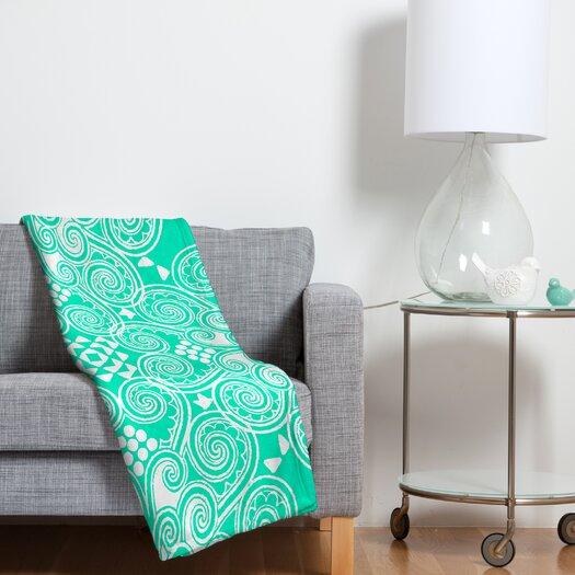 DENY Designs Budi Kwan Decographic Polyesterrr Fleece Throw Blanket