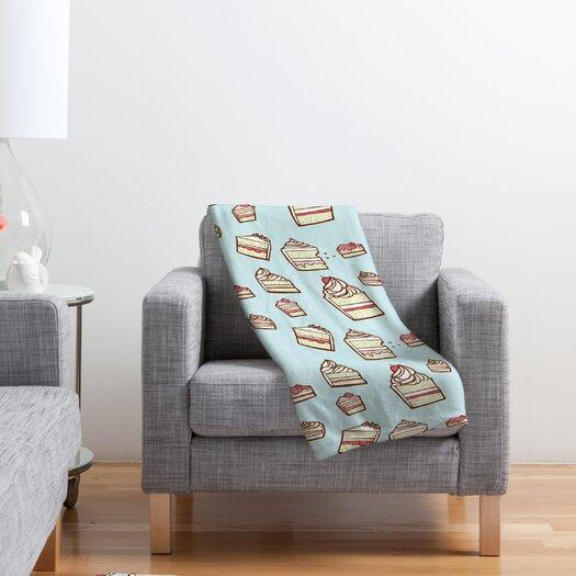 DENY Designs Jennifer Denty Cake Slices Polyester Fleece Throw Blanket
