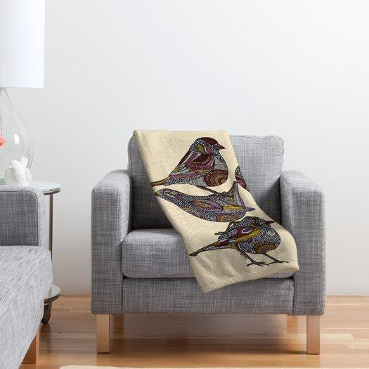 DENY Designs Valentina Ramos 3 Kings Polyester Fleece Throw Blanket