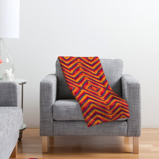 DENY Designs Wagner Campelo Sanchezia 1 Polyester Fleece Throw Blanket
