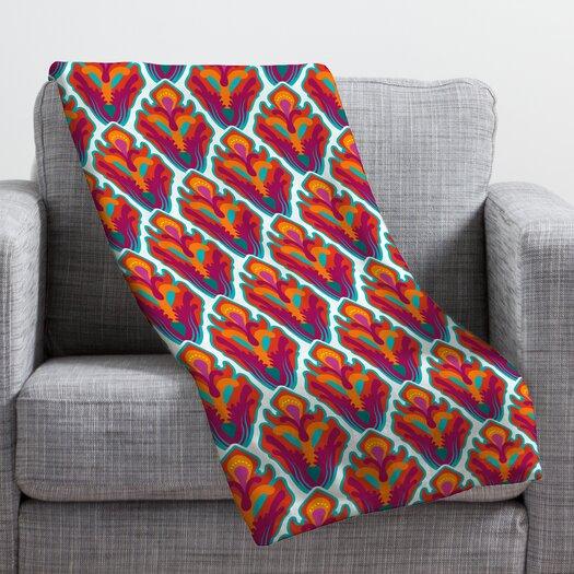 DENY Designs Arcturus Rococo Polyester Fleece Throw Blanket