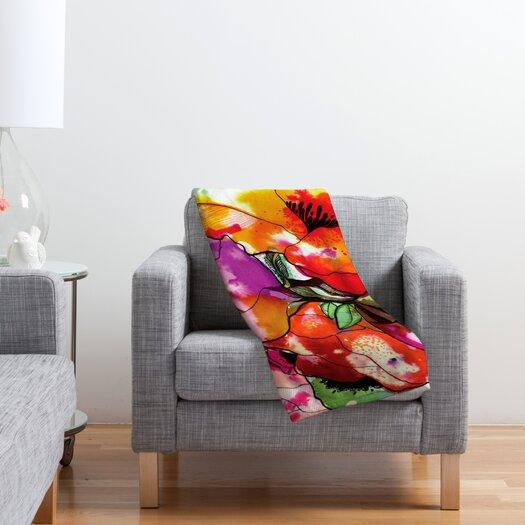 DENY Designs CayenaBlanca Big 2 Polyester Fleece Throw Blanket