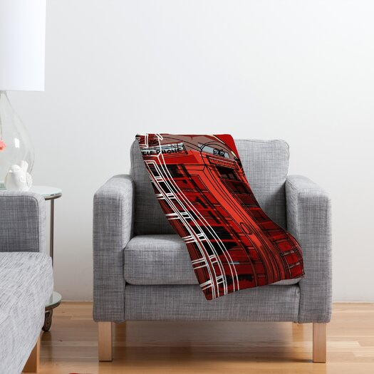 DENY Designs Aimee St Hill Phone Box Polyester Fleece Throw Blanket