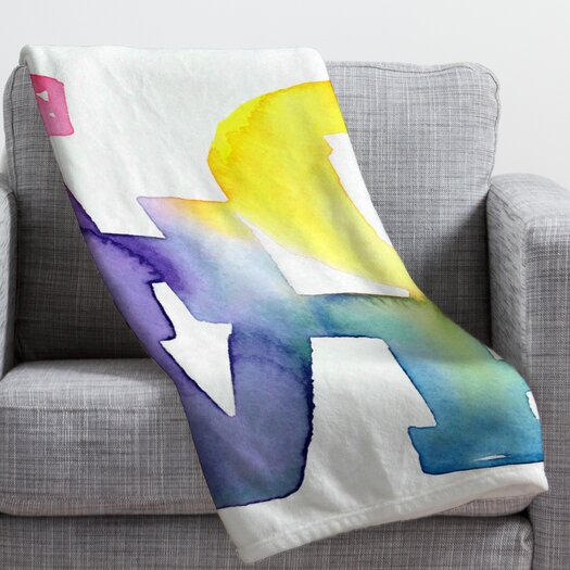 DENY Designs CMYKaren Love 4 Throw Blanket