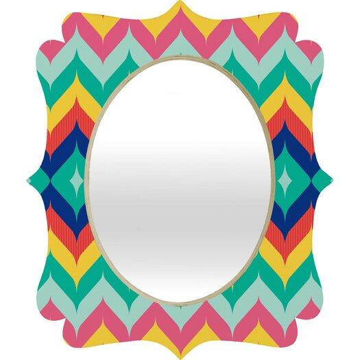DENY Designs Juliana Curi Chevron 5 Wall Mirror