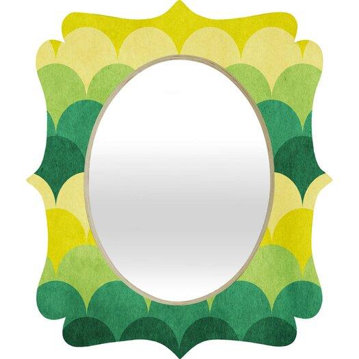 DENY Designs Arcturus Scales Quatrefoil Mirror