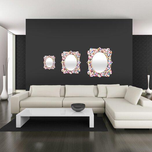 DENY Designs Garima Dhawan Dance 3 Quatrefoil Mirror