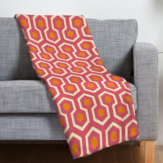 DENY Designs Caroline Okun Zest Polyester Fleece Throw Blanket