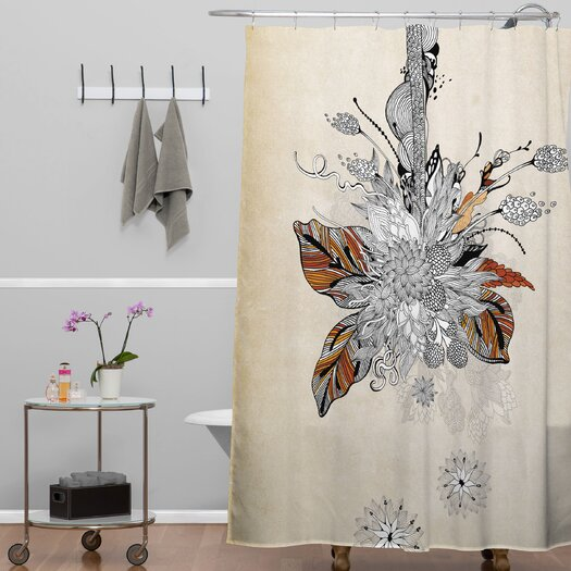 DENY Designs Iveta Abolina Polyester Floral 2 Shower Curtain