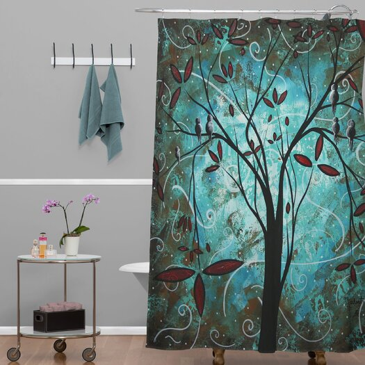 DENY Designs Madart Inc. Polyester Romantic Evening Shower Curtain