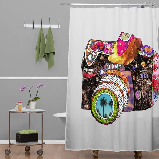 DENY Designs Bianca Woven Polyester Picture This Shower Curtain