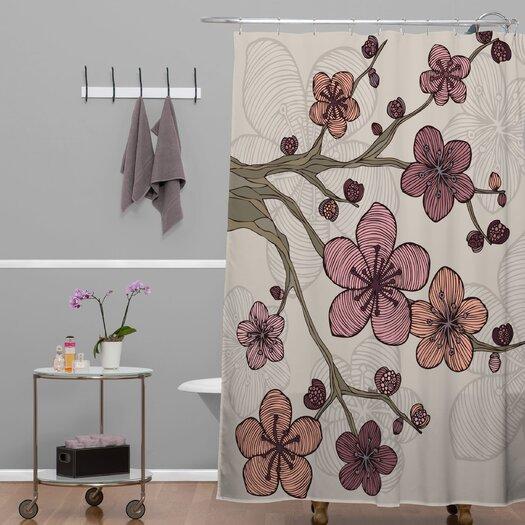 DENY Designs Valentina Ramos Polyester Blossom Shower Curtain