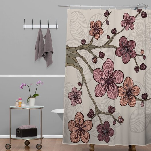 DENY Designs Valentina Ramos Polyester Blossom Shower Curtain