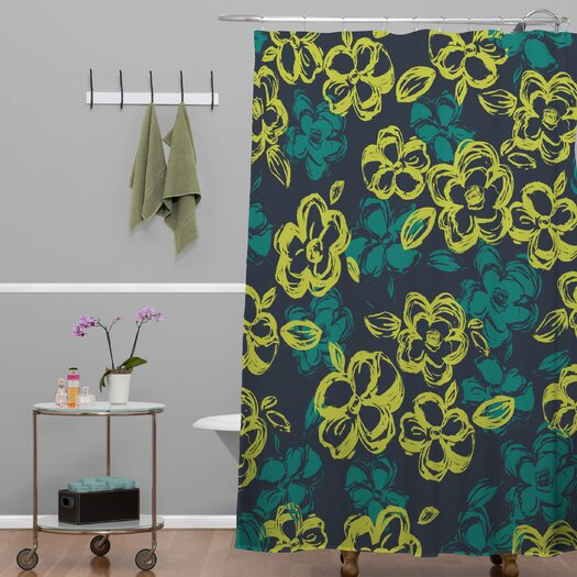 DENY Designs Khristian A Howell Polyester Russian Ballet 1 Shower Curtain