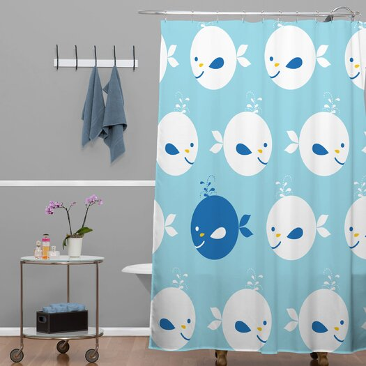 DENY Designs Khristian A Howell Polyester Baby Beach Bum 2 Shower Curtain