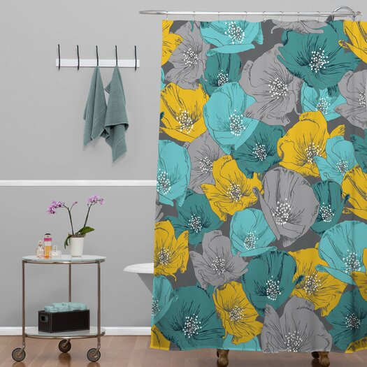 DENY Designs Khristian A Howell Woven Polyester Bryant Park 4 Shower Curtain