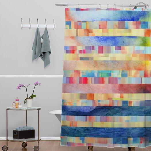 DENY Designs Jacqueline Maldonado Woven Polyester Amalgama Shower Curtain