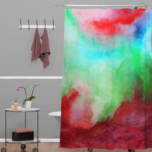DENY Designs Jacqueline Maldonado Woven Polyester Shower Curtain