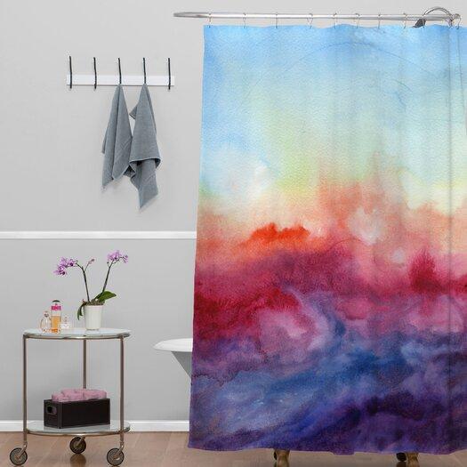 DENY Designs Jacqueline Maldonado Woven Polyester Arpeggi Shower Curtain