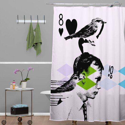 DENY Designs Randi Antonsen Polyester Poster Hero 2 Shower Curtain