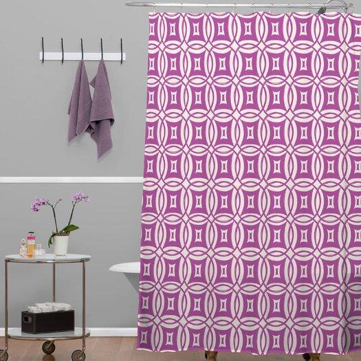 DENY Designs Khristian A Howell Woven Polyester Desert Twilight Shower Curtain