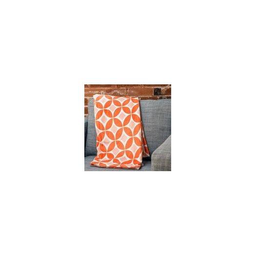 DENY Designs Caroline Okun Persimmon Polyester Fleece Throw Blanket