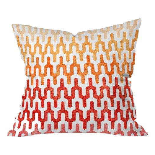 DENY Designs Arcturus Warm Indoor/Outdoor Throw Pillow