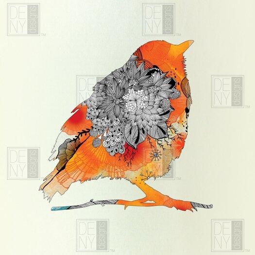 DENY Designs Iveta Abolina Polyester Bird Shower Curtain