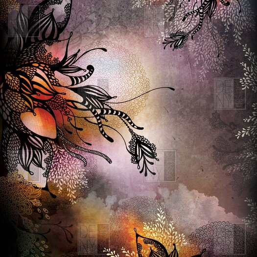 DENY Designs Iveta Abolina Polyester Rain Shower Curtain
