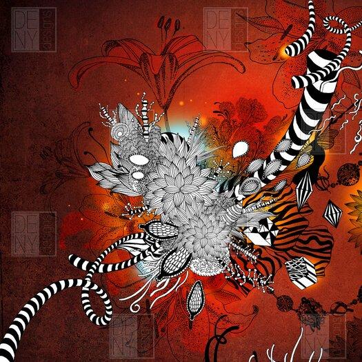 DENY Designs Iveta Abolina Polyester Wild Lilly Shower Curtain