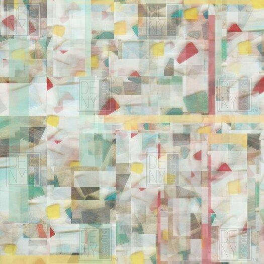 DENY Designs Jacqueline Maldonado Woven Polyester Mosaic Shower Curtain